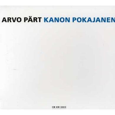 Arvo Part KANON POKAJANEN CD