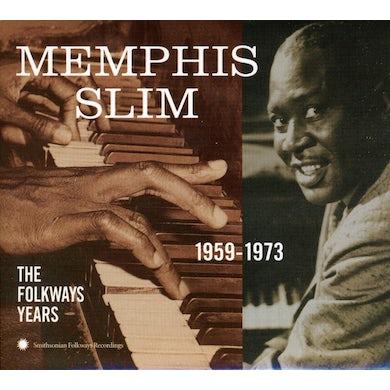 Slim Memphis  FOLKWAYS YEARS 1959-73 CD