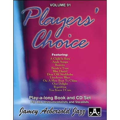 Jamey Aebersold PLAYERS CHOICE 91 CD