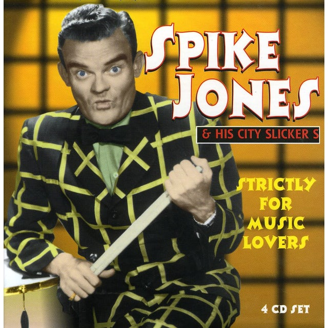 Spike Jones STRICTLY FOR MUSIC LOVERS CD