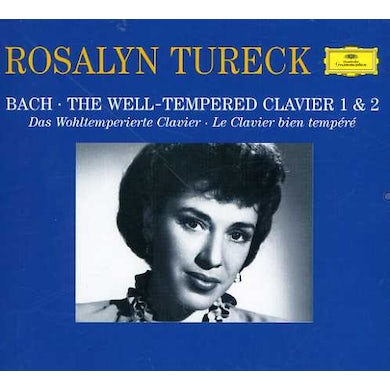 Rosalyn Tureck PLAYS BACH: WELL-TEMPERED CLAVIER 1 & 2 CD