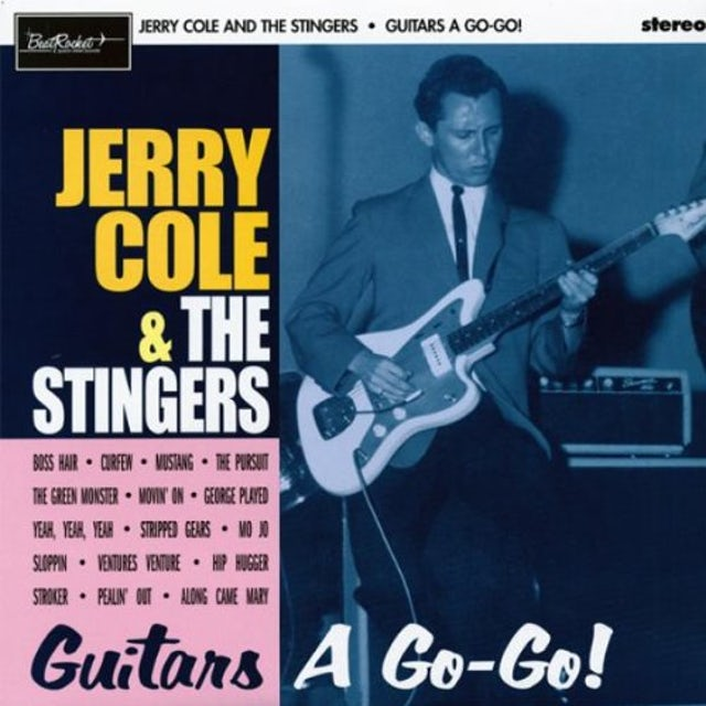 Jerry / Stingers Cole GUITARS A GO-GO Vinyl Record
