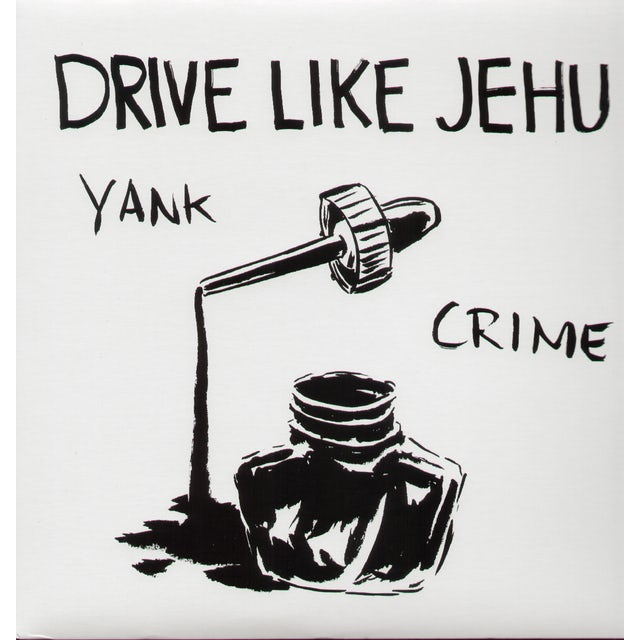 Drive Like Jehu YANK CRIME Vinyl Record