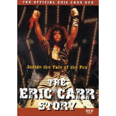 Eric Carr TALE OF THE FOX DVD