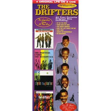 Drifters LEGENDARY GROUP AT THEIR BEST CD
