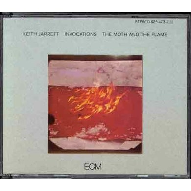 Keith Jarrett INVOCATIONS / MOTH & THE FLAME CD