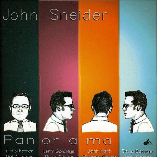 John Sneider PANORAMA CD