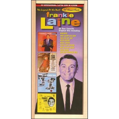 Frankie Laine LEGEND AT HIS BEST CD