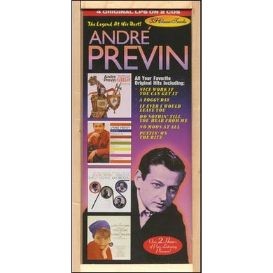 Andre Previn LEGEND AT HIS BEST CD