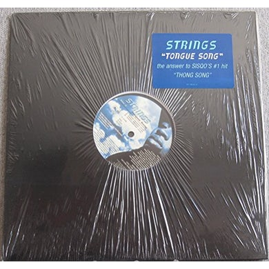 Strings TONGUE SONG (X3) / HEY YA (X3) Vinyl Record