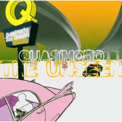 Quasimoto UNSEEN CD