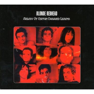Blonde Redhead MELODY OF CERTAIN DAMAGED LEMONS CD