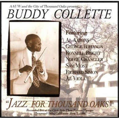 Buddy Collette JAZZ FOR THOUSAND OAKS CD
