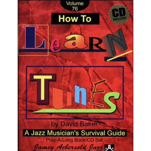David Baker HOW TO LEARN TUNES CD
