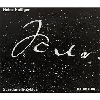 Heinz Holliger SCARDANELLI-ZYKLUS CD