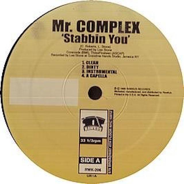 Mr Complex STABBIN YOU GITCHA GITCHA Vinyl Record