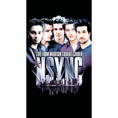 *NSYNC LIVE AT MADISON SQUARE GARDEN DVD