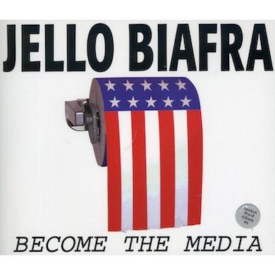 Jello Biafra BECOME THE MEDIA CD