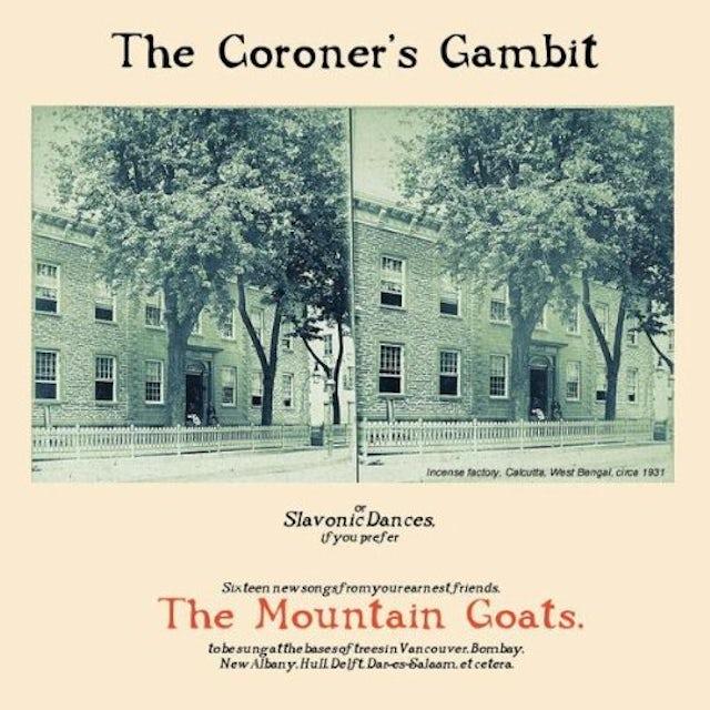 The Mountain Goats CORONERS GOAT CD