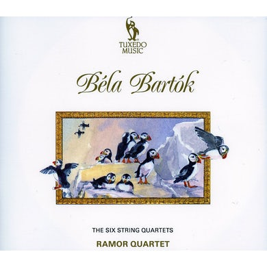 Bartok SIX STRING QUARTETS CD