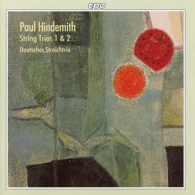 Hindemith STRING TRIOS 1 & 2 CD
