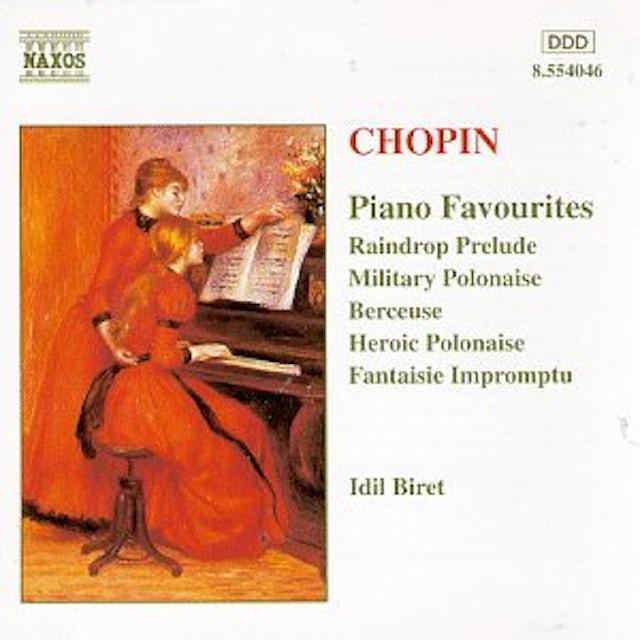Chopin PIANO FAVOURITES CD