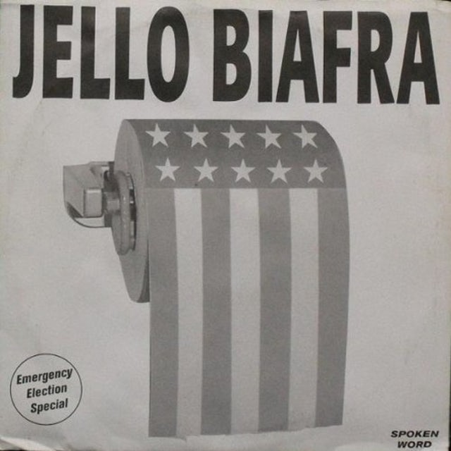 Jello Biafra EMERGENCY ELECTION SPECIAL Vinyl Record