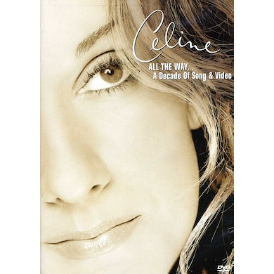 Celine Dion ALL THE WAY - A DECADE OF SONG & VIDEO DVD