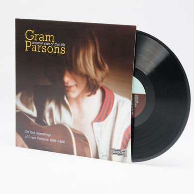 Gram Parsons ANOTHER SIDE OF THIS LIFE Vinyl Record