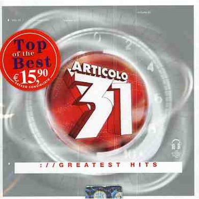 Articolo 31 BEST OF CD