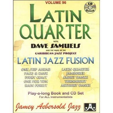 Jamey Aebersold LATIN QUARTER LATIN JAZZ FUSION CD