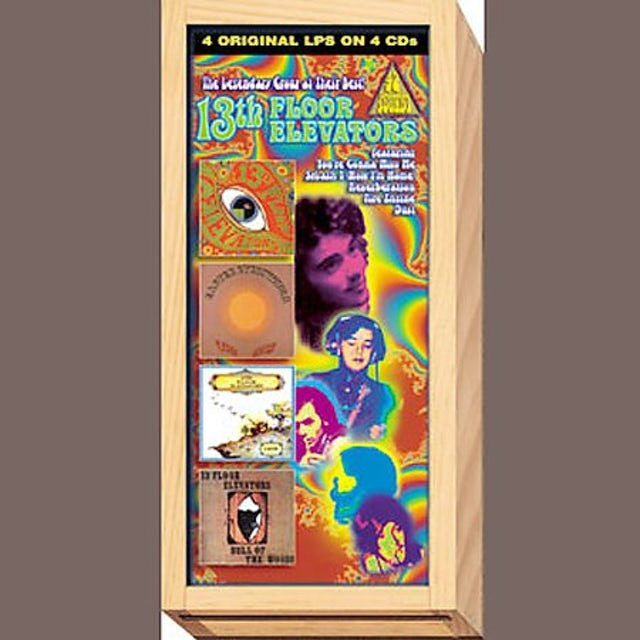 The 13th Floor Elevators LEGENDARY GROUP AT THEIR BEST CD