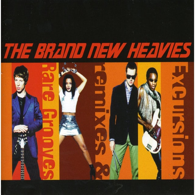 Brand New Heavies EXCURSIONS CD