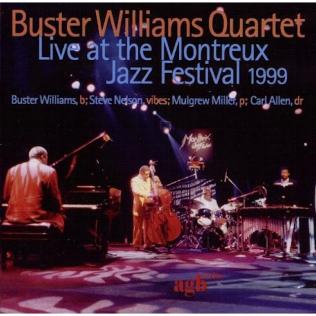 Buster Williams LIVE AT THE MONTREUX JAZZ FESTIVAL 1999 CD