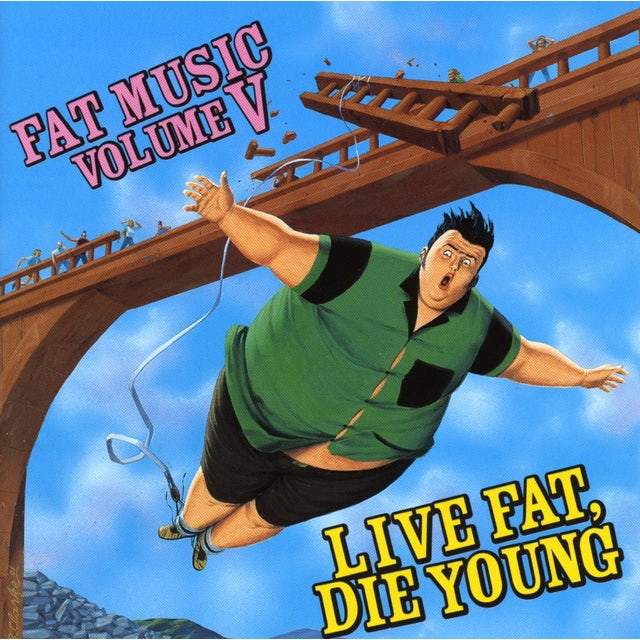 Fat Music 5: Live Fat Die Young / Various CD