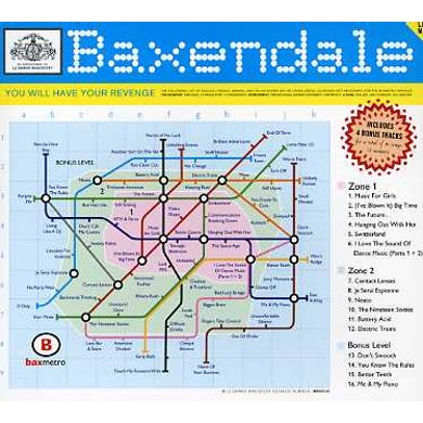 Baxendale YOU WILL HAVE YOUR REVENGE CD