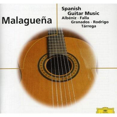Narciso Yepes MALAGUENA: SPANISH GUITAR MUSIC - ELOQUENCE CD