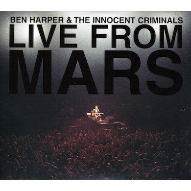 Ben Harper LIVE FROM MARS CD