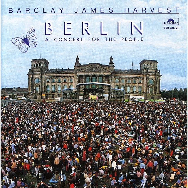 Barclay James Harvest BERLIN: CONCERT FOR THE PEOPLE CD