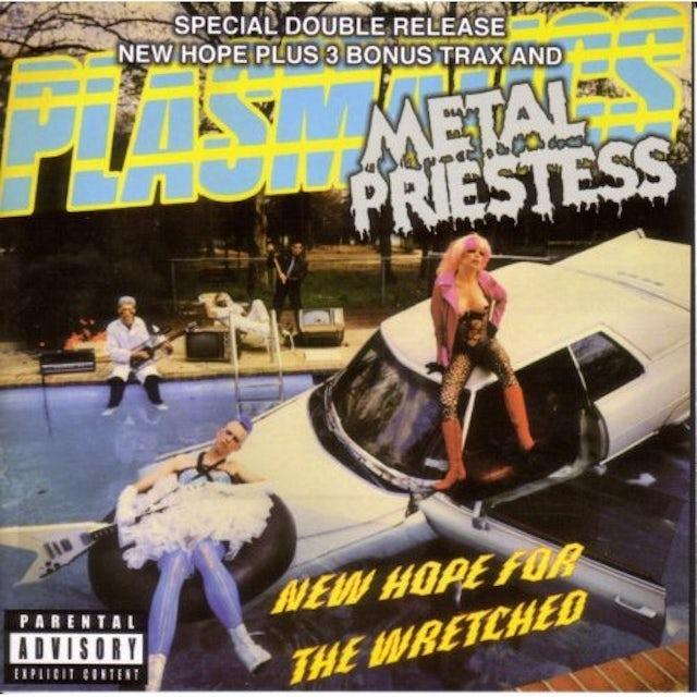 Plasmatics NEW HOPE THE WRETCHED: METAL PRIESTESS CD