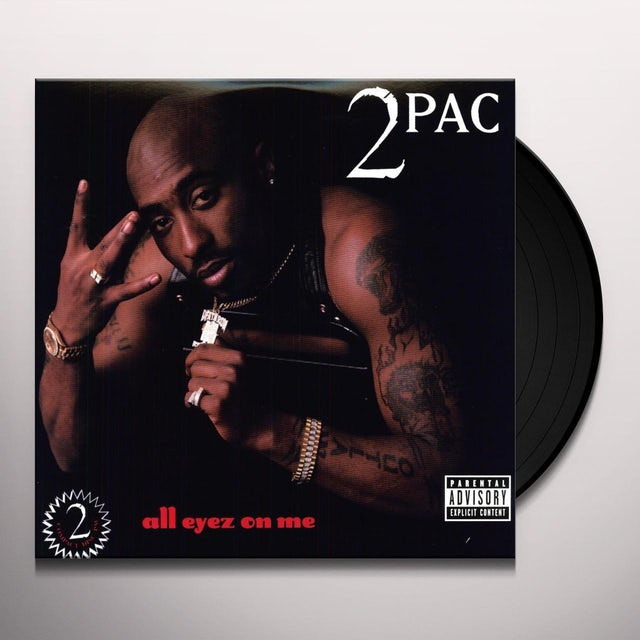 Tupac ALL EYEZ ON ME Vinyl Record