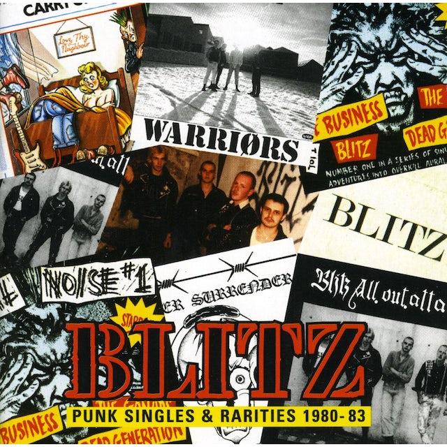 Blitz PUNK SINGLES & RARITIES 1980-1983 CD