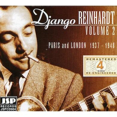 Django Reinhardt PARIS & LONDON 1937-48 2 CD