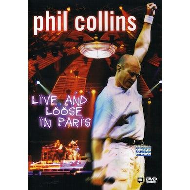 Phil Collins LIVE & LOOSE IN PARIS DVD