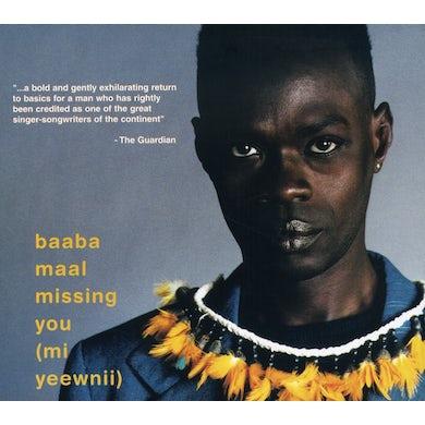 Baaba Maal MI YEEWNII-MISSING YOU CD
