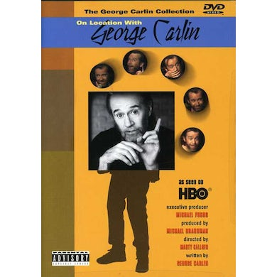 ON LOCATION WITH GEORGE CARLIN DVD
