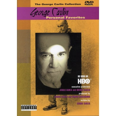 George Carlin PERSONAL FAVORITES DVD