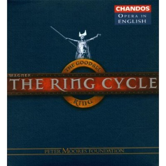 Wagner RING CYCLE: 4 COMPL OPERAS SUNG ENGLISH CD