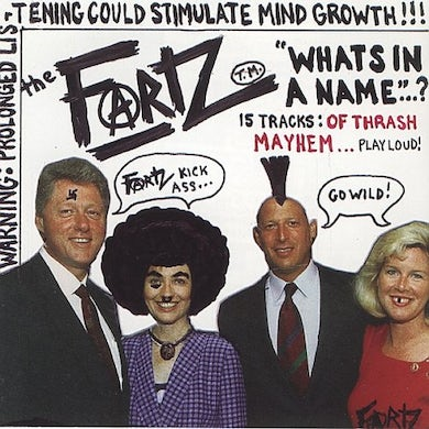 Fartz WHAT'S IN A NAME CD