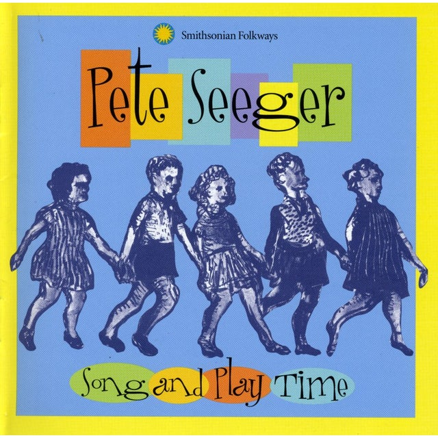 Pete Seeger SONG & PLAY TIME CD